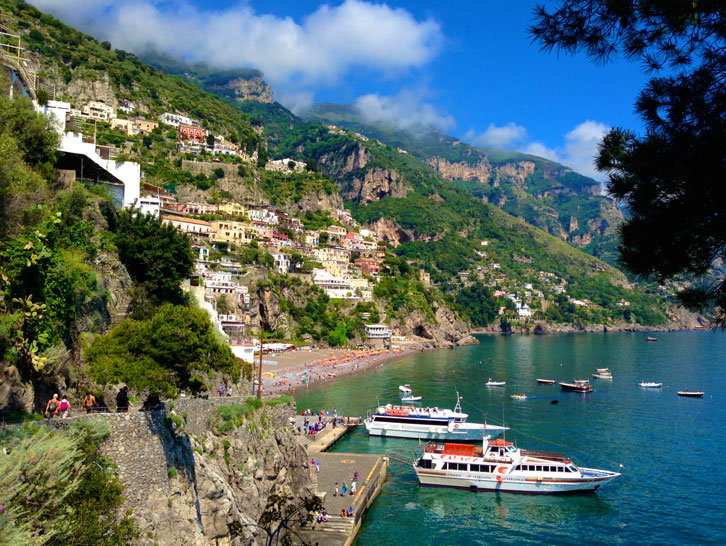 Positano cheap car rental service picture
