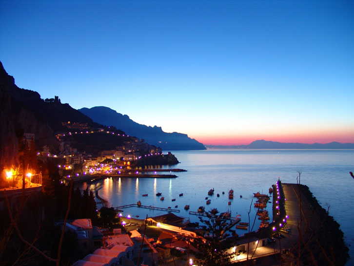 Positano cheap car transfers picture